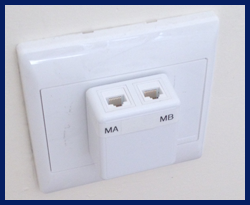 surface mounted outlet cat6